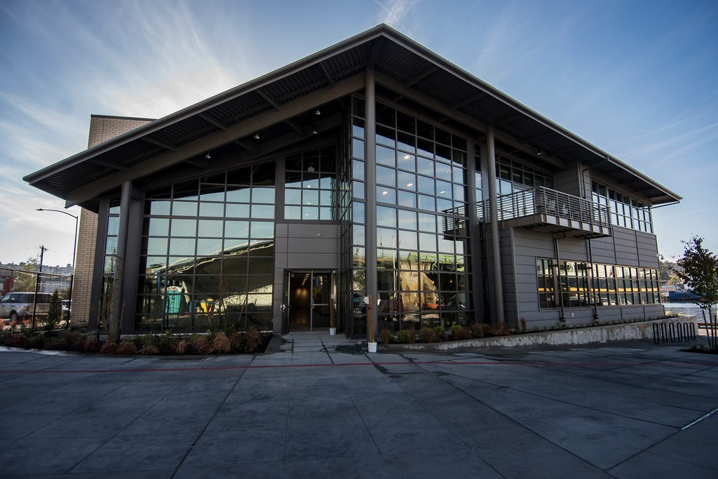 Seattle Maritime academy celebrates opening of innovative new building