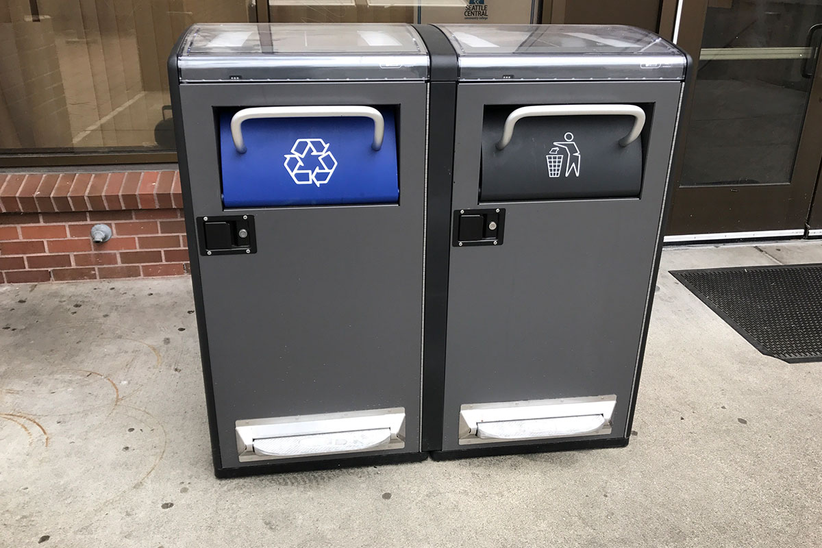New solar-powered trash bins to help campus stay clean