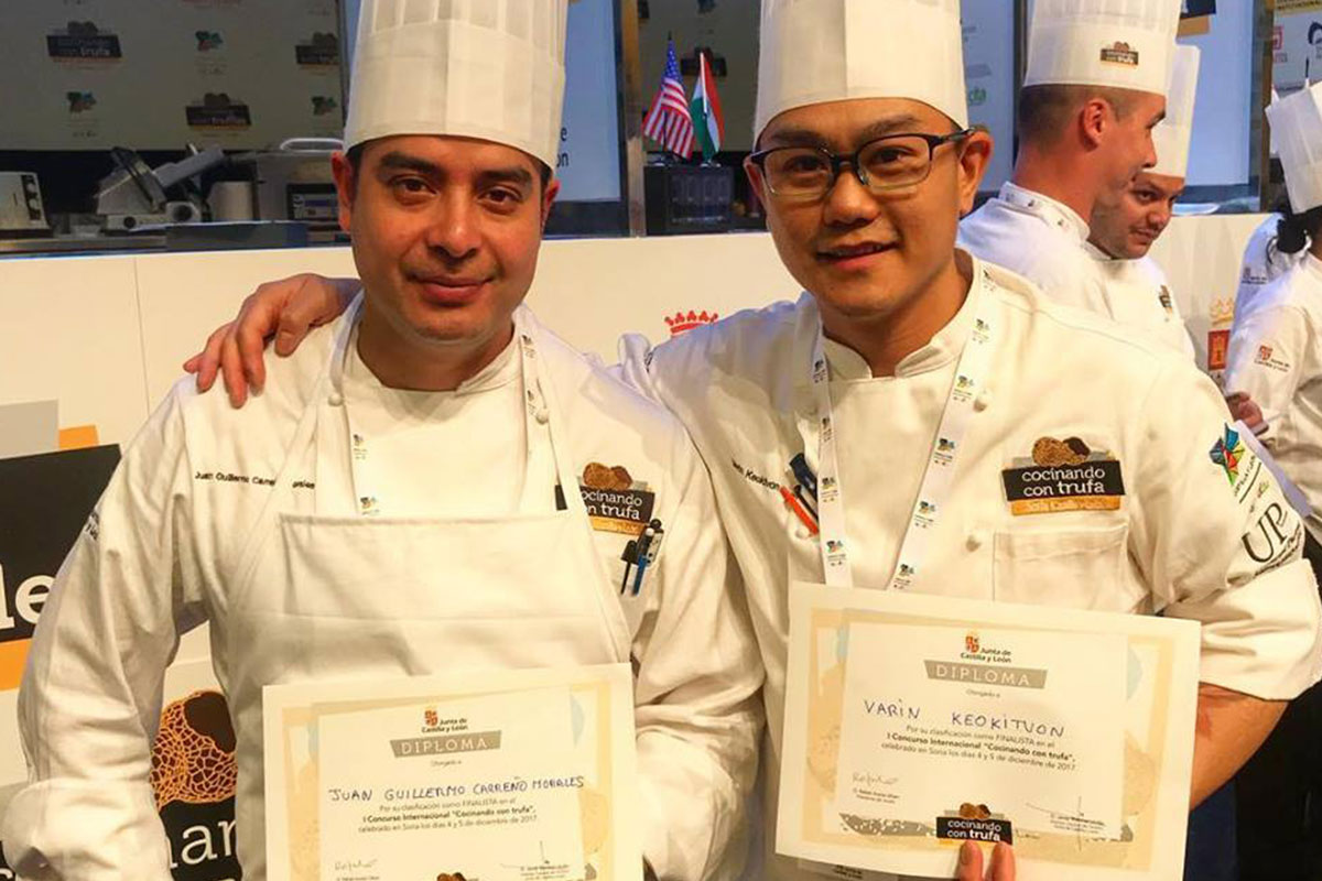 Chefs earn high rank in global competition