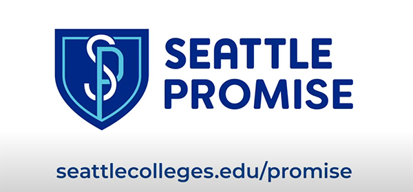 the Seattle Promise logo and website